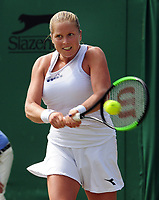 Tennis - 2017 Wimbledon Championships - Week One, Saturday [Day Six]<br /> <br /> Womens Singles - Third round<br /> Angelique Kerber (GER) v Shelby Rogers (USA) <br /> <br /> Shelby Rogers on Court 2<br /> <br /> COLORSPORT/ANDREW COWIE