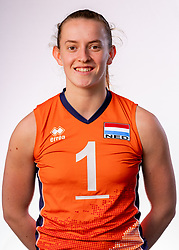 Kim Klein Lankhorst of Netherlands, Photoshoot selection of Orange women's youth volleybal team season 2021on june 15, 2021 in Arnhem, Netherlands (Photo by RHF Agency/Ronald Hoogendoorn)