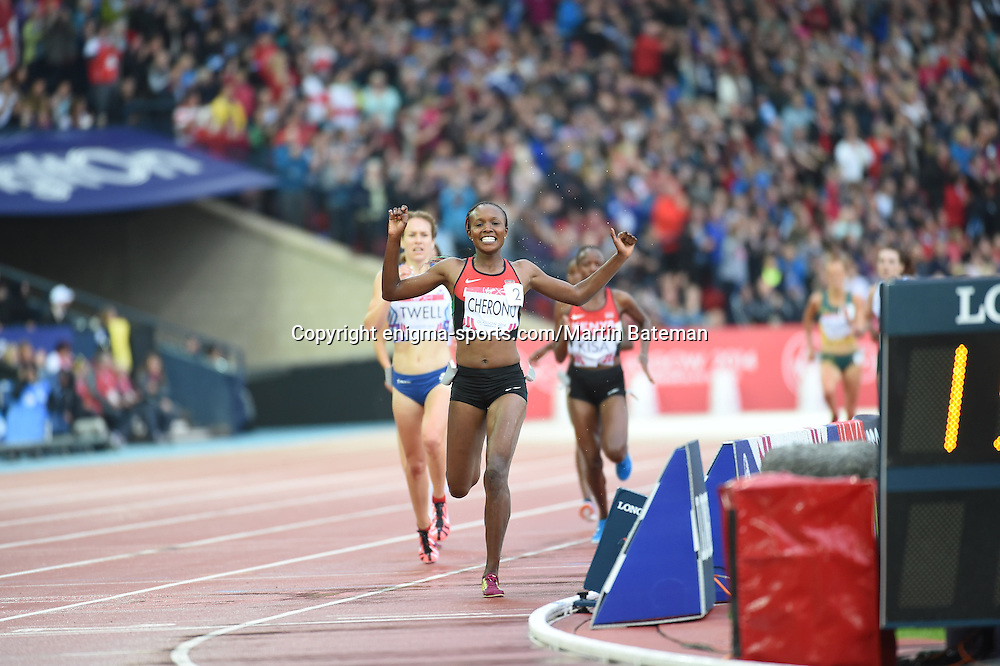 The women's 5000m of the Commonwealth Games Athletics takes place in Glasgow on August 2nd 2014