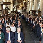 NLD/Naarden/20190419 - Matthaus-Passion in de grote kerk van Naarden, Khadija Arib, Ankie Broekers-Knol en partner