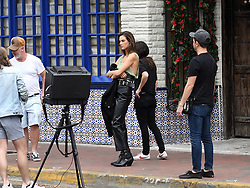 Brazilian supermodel Alessandra Ambrosio poses in different outfits for Elle Italy photoshoot in Little Havana, Florida. 23 Jan 2019 Pictured: Alessandra Ambrosio. Photo credit: MEGA TheMegaAgency.com +1 888 505 6342