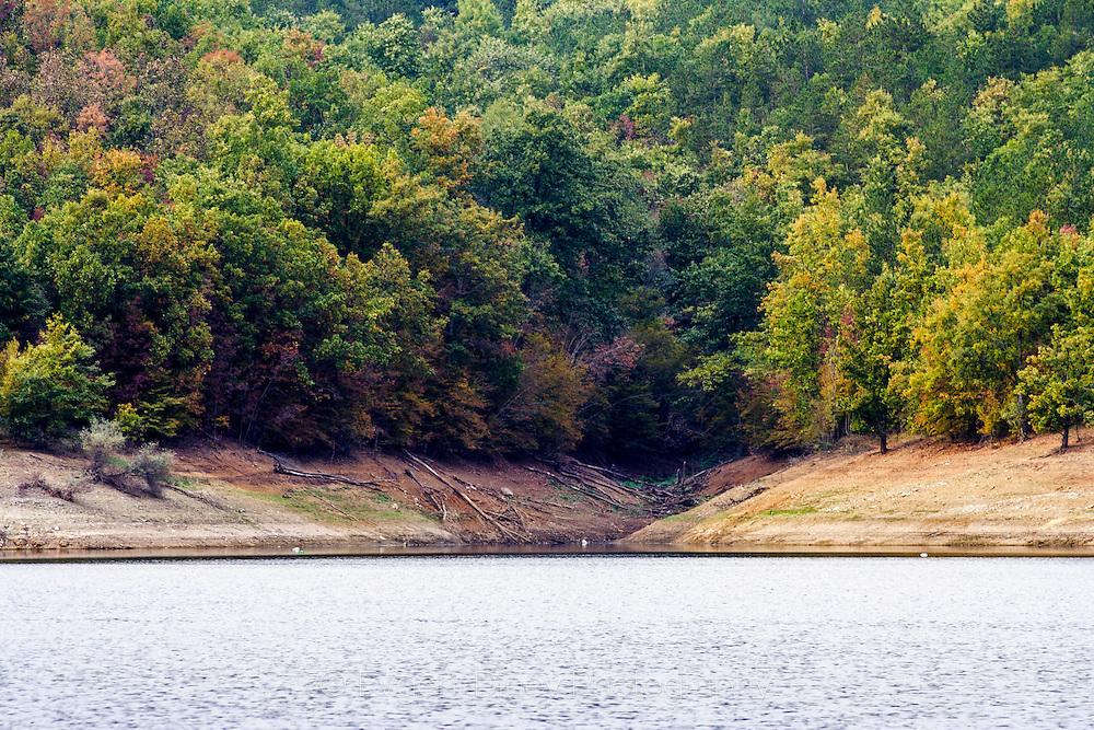 Yasna Polyana dam lake