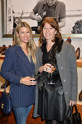 Left to right, SADIE MANTOVANI and FLORENCE PAUL at a party to launch the Gaziano & Girling Ladies Collection held at Gaziano & Girling, 39 Savile Row, London on 5th April 2016.