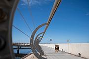 20210508/MALDONADO- Uruguay/ Puente de la Laguna Garzón, que une los departamentos de Rocha y Maldonado, ubicado sobre la rambla.<br /> <br /> En la foto: Puente de la Laguna Garzón. Foto: Pablo Vignali / adhocFOTOS