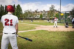 London Mets baseball team, Finsbury Park, London