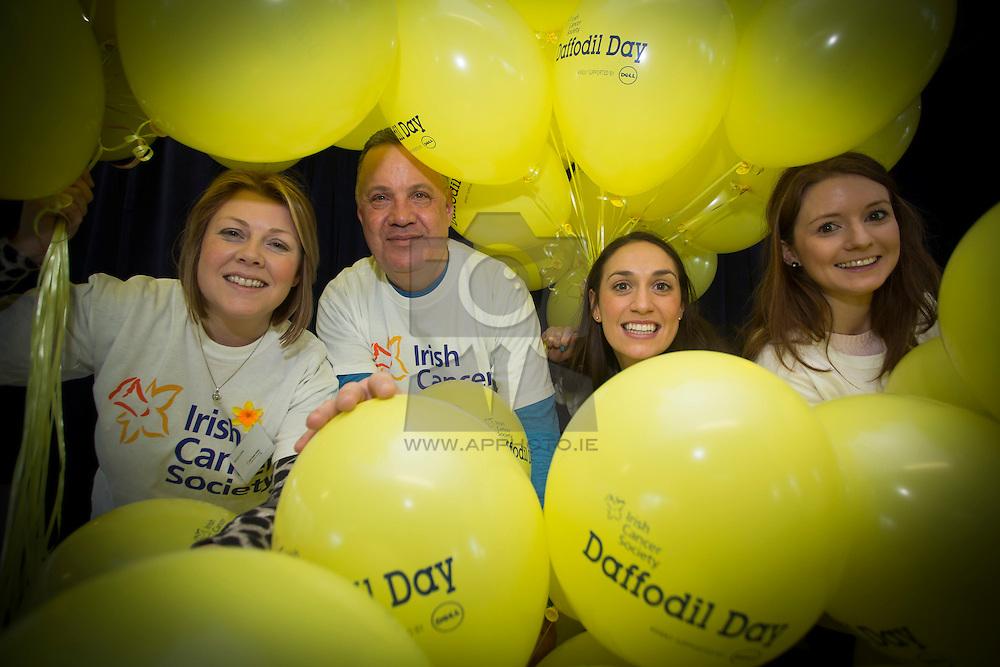 Dell staff, Nicola Corr from Delgany, Matt Morris from Rathfarnham, Ailish Brennan and Maree Lanigan from Limerick