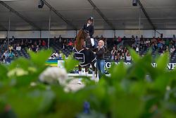Kraglund Katrine, DEN, Bohemian<br /> World Championship Young Dressage Horses <br /> Ermelo 2016<br /> © Hippo Foto - Leanjo De Koster<br /> 29/07/16