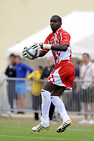 FOOTBALL - FRIENDLY GAMES 2010/2011 - GIRONDINS BORDEAUX v FC TOURS - 24/07/2010 - PHOTO JEAN MARIE HERVIO / DPPI - YOHANN THURAM (FCT)