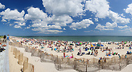 Tiana Beach is located on the long barrier island off of Long Island's southern shores, East Quogue, NY