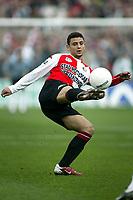 Fotball<br /> Feyenoord v Ajax<br /> 11. april 2004<br /> Foto: Digitalsport<br /> Norway Only<br /> Hossam Ghali, Feyenoord