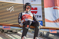 28.02.2021, Oberstdorf, GER, FIS Weltmeisterschaften Ski Nordisch, Oberstdorf 2021, Mixed Teambewerb, Skisprung HS106, im Bild Anna Rupprecht (GER) // Anna Rupprecht (GER) during the ski jumping HS106 mixed team competition of FIS Nordic Ski World Championships 2021 in Oberstdorf, Germany on 2021/02/28. EXPA Pictures © 2021, PhotoCredit: EXPA/ Tadeusz Mieczynski