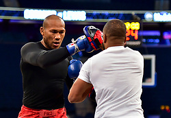 Ronaldo Jacare Souza during UFC 230 Open Workouts at Madison Square Garden.