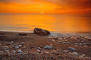 Sunset on Cabot Trail<br /> Pleasant Bay<br /> Nova Scotia<br /> Canada