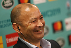KYOTO, JAPAN - MAY 10: Eddie Jones, Head Coach of England speaks to the media during the Rugby World Cup 2019 Pool Draw at the Kyoto State Guest House on May 10, in Kyoto, Japan. Photo by Dave Rogers - World Rugby/PARSPIX/ABACAPRESS.COM