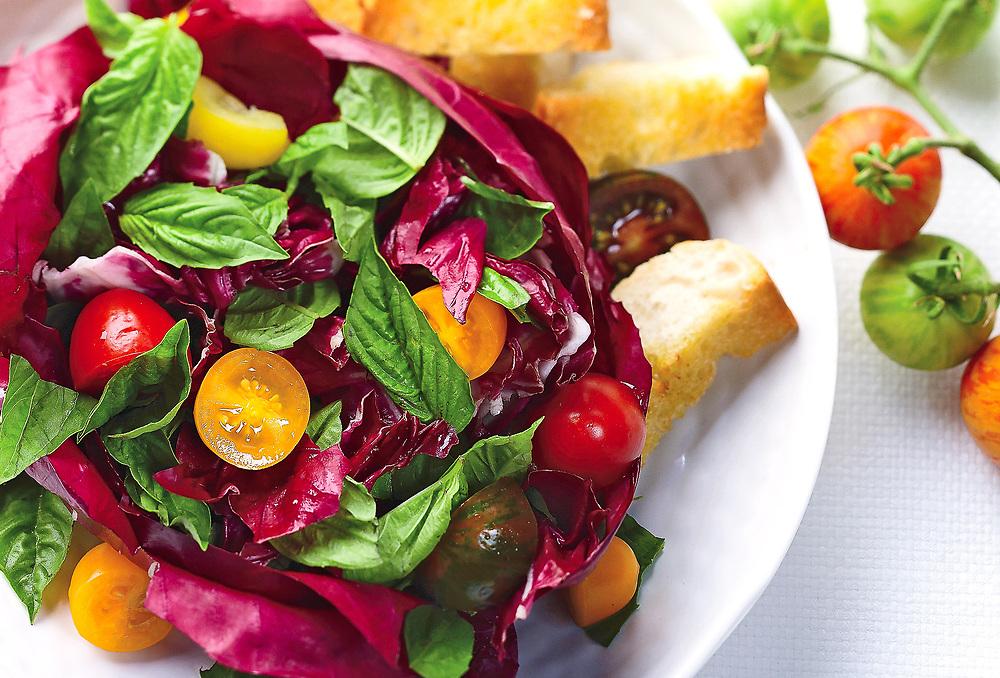 Tomato Basil Cabage Salad