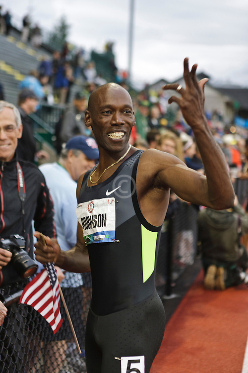 men's 800 meters: Khadevis Robinson, Olympic qualifier