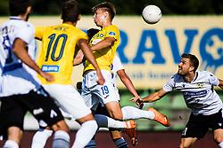 Rok Kidric of NK Bravo during football match between NK Bravo and NK Koper in 4th Round of Prva liga Telekom Slovenije 2020/21, on September 19, 2020 in Sport park ZAK, Ljubljana, Slovenia. Photo by Grega Valancic / Sportida