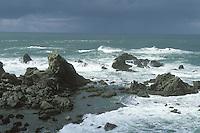 Pacific Ocean off the Mendocino Coast, Mendocino, California