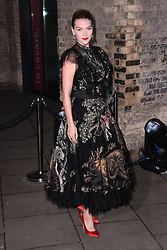 Arizona Muse arriving at the Fabulous Fund Fair, Camden Roundhouse, London.<br />Photo credit should read: Doug Peters/EMPICS