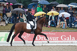 Schneider Dorothee, (GER), Stanford 9<br /> First Qualifier 6 years old horses<br /> World Championship Young Dressage Horses - Verden 2015<br /> © Hippo Foto - Dirk Caremans<br /> 07/08/15