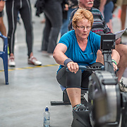 Shirley Godkin FEMALE HEAVYWEIGHT Masters H 500mtr Race #17 01:15pm <br /> <br /> www.rowingcelebration.com Competing on Concept 2 ergometers at the 2018 NZ Indoor Rowing Championships. Avanti Drome, Cambridge,  Saturday 24 November 2018 © Copyright photo Steve McArthur / @RowingCelebration