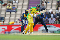 Cricket - 2019 ICC Cricket World Cup warm ups - Australia vs. Sri Lanka<br /> <br /> Shaun Marsh of Australia flicks the ball away on the leg side during the cricket world cup warm up match at the Hampshire Bowl Southampton England<br /> <br /> COLORSPORT/SHAUN BOGGUST