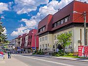 Centrum Mszany Dolnej, Polska<br /> Centre of Mszana Dolna, Poland