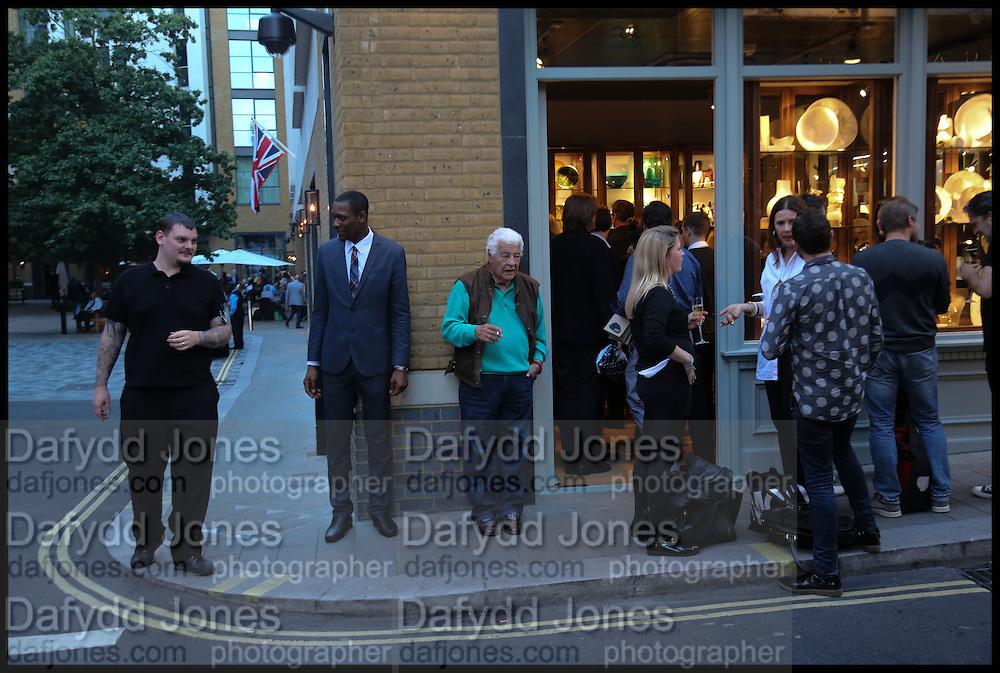 ANTONIO CARLUCCIO; JEFFREY MACLEAN, Dinosaur Designs launch of their first European store in London. 35 Gt. Windmill St. 18 September 2014