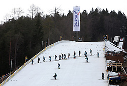 Track at e.on Ruhrgas FIS World Cup Ski Jumping on K215 ski flying hill, on March 14, 2008 in Planica, Slovenia . (Photo by Vid Ponikvar / Sportal Images)./ Sportida)