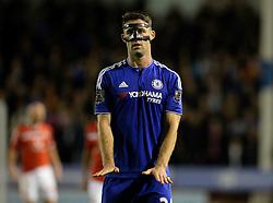 Chelsea's Gary Cahill - Mandatory byline: Alex James/JMP - 07966 386802 - 23/09/2015 - FOOTBALL - Bescot Stadium - Walsall , England - Walsall v Chelsea  - Capital One Cup - Third Round
