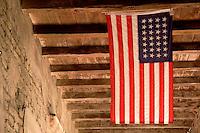 U.S. Flag, Mission San Juan Capistrano, California