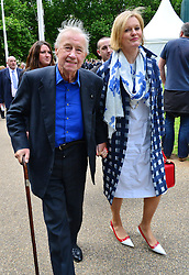 Michael Winner public memorial.  <br /> Sir Terence Conran during the Memorial.<br /> Memorial takes place at the National Police Memorial. The film director and food critic helped establish, following his death on January 23 2013. <br /> Geraldine Winner, Sir Michael Parkinson, Sir Michael Caine, Sir Roger Moore, Cilla Black, Carol Vorderman, Sir Terence Conran, give eulogies, <br /> London, United Kingdom<br /> Sunday, 23rd June 2013<br /> Picture by Nils Jorgensen / i-Images