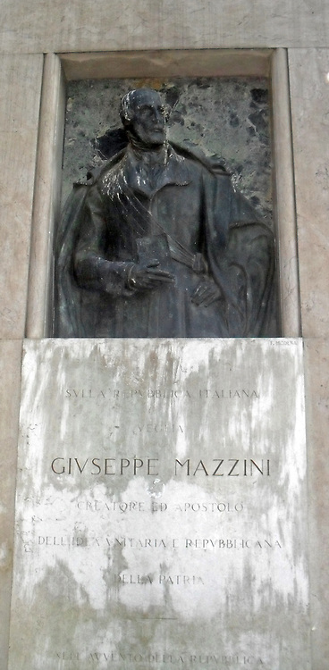 Giuseppe Mazzini (1805 – 1872), nicknamed The Beating Heart of Italy, was an Italian politician, journalist and activist for the unification of Italy. His efforts helped bring about the independent and unified Italy