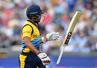 Cricket - 2019 ICC Cricket World Cup - Group Stage: England vs. Sri Lanka<br /> <br /> Sri Lanka's Kusal Mendis dismissed by England's Adil Rashid for 46, at Headingley, Leeds<br /> <br /> COLORSPORT/ASHLEY WESTERN