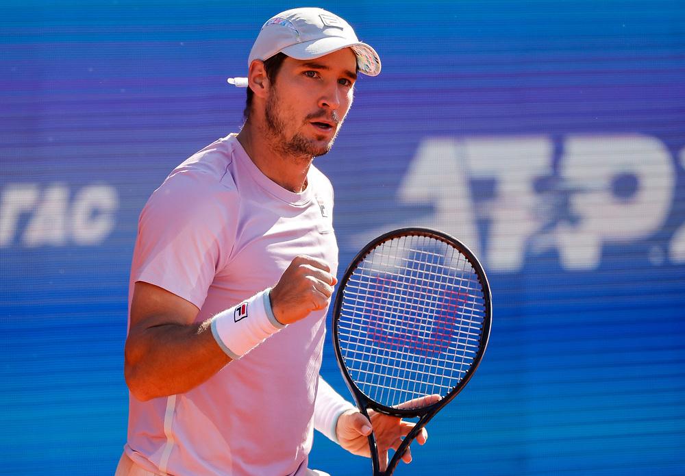 Tennis-ATP Serbia Open Belgrade 2021<br /> Federico Delbonis (ARG) v Dusan Lajovic<br /> Beograd, 22.04.2021.<br /> foto: Srdjan StevanovicStarsportphoto ©