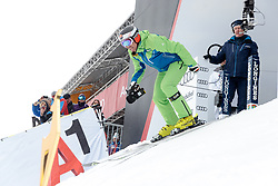 18.01.2018, Hahnenkamm, Kitzbühel, AUT, FIS Weltcup Ski Alpin, Kitzbuehel, Abfahrt, Herren, 3. Training, im Bild Hans Kanaus (ORF Kamera Fahrt) im Starthaus // Hans Knaus (Cameradriver) in action during the 3rd practice run of men's Downhill of FIS Ski Alpine World Cup at the Hahnenkamm in Kitzbühel, Austria on 2018/01/18. EXPA Pictures © 2018, PhotoCredit: EXPA/ Johann Groder