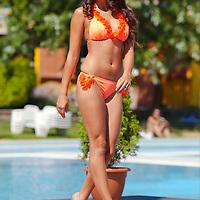 Miss Bikini Hungary beauty contest held in Budapest, Hungary. Sunday, 29. August 2010. ATTILA VOLGYI