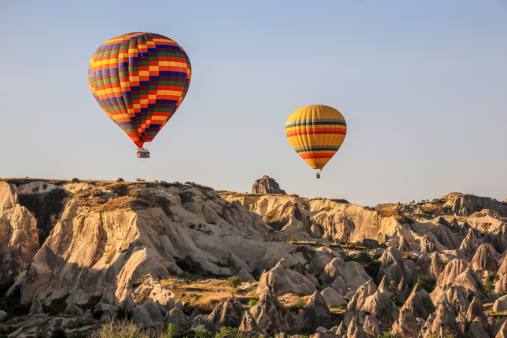 Hot Air Balloons at Göreme, Cappadocia, Turkey