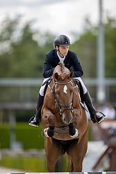 De Boer Wesley, NED, Keatoulon Ella<br /> Nationaal Kampioenschap KWPN<br /> 5 jarigen springen final<br /> Stal Tops - Valkenswaard 2020<br /> © Hippo Foto - Dirk Caremans<br /> 19/08/2020