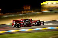 Qualifying Lucas Di Grassi (BRA) / Loic Duval (FRA) / Oliver Jarvis (GBR) driving the LMP1 Audi Sport Team Joest Audi R18 Hybridn 24hr Le Mans 15th June 2016