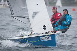 Largs Regatta Festival 2018<br /> <br /> Round Cumbraes Race<br /> <br /> RS200, Dan Smith and Wendy Tuck<br /> <br /> Images: Marc Turner