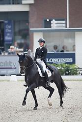 Lundholm Ida-Linn, SWE, Eclectisch<br /> World Championship Young Dressage Horses <br /> Ermelo 2016<br /> © Hippo Foto - Leanjo De Koster<br /> 29/07/16
