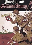 Hitler Youth camp. Poster c1936.