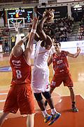 DESCRIZIONE : Roma Lega serie A 2013/14 Acea Virtus Roma Grissin Bon Reggio Emilia<br /> GIOCATORE : trevor mbakwe<br /> CATEGORIA : tiro<br /> SQUADRA : Acea Virtus Roma<br /> EVENTO : Campionato Lega Serie A 2013-2014<br /> GARA : Acea Virtus Roma Grissin Bon Reggio Emilia<br /> DATA : 22/12/2013<br /> SPORT : Pallacanestro<br /> AUTORE : Agenzia Ciamillo-Castoria/ManoloGreco<br /> Galleria : Lega Seria A 2013-2014<br /> Fotonotizia : Roma Lega serie A 2013/14 Acea Virtus Roma Grissin Bon Reggio Emilia<br /> Predefinita :