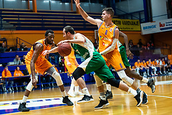 during basketball match between Helios Suns vs Krka, 15 round of Slovenian national championship, 13 January, 2020, Domzale, Slovenia. Photo By Grega Valancic / Sportida