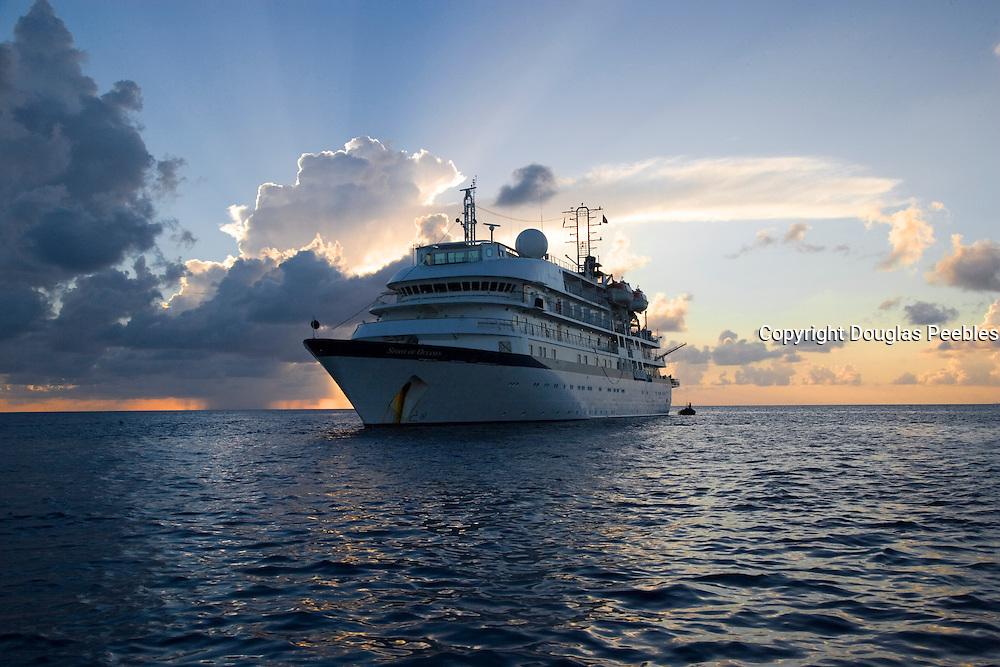 Spirit of Oceanus, Rangiroa, French Polynesia, (Editorial use only)<br />