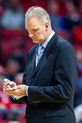 NORMAL, IL - November 10: Brian Jones during a college basketball game between the ISU Redbirds and the Little Rock Trojans on November 10 2019 at Redbird Arena in Normal, IL. (Photo by Alan Look)