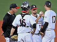 The Washington Wild Things at the Lake Erie Crushers in Frontier League action on June 15, 2010 at All Pro Freight Stadium.