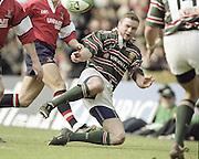 Watford. Great Britain. <br /> Geordan MURPHY.<br /> Heineken Cup Semi Final; Gloucester Rugby vs Leicester Tigers. Vicarage Road Stadium, Hertfordshire.England.  <br /> <br /> [Mandatory Credit, Peter Spurrier/ Intersport Images].