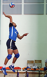 Roberto Carlos Brito da Purificacao of Salonit at 4th and final match of Slovenian Voleyball  Championship  between OK Salonit Anhovo (Kanal) and ACH Volley (from Bled), on April 23, 2008, in Kanal, Slovenia. The match was won by ACH Volley (3:1) and it became Slovenian Championship Winner. (Photo by Vid Ponikvar / Sportal Images)/ Sportida)